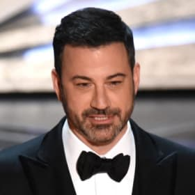 This year's host, Jimmy Kimmel.