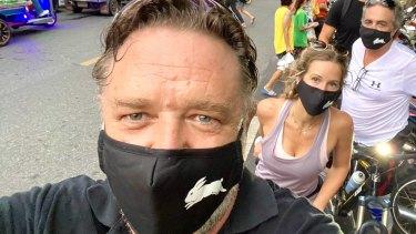 Russell Crowe bringing his star power to Bangkok.
