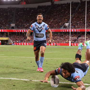 Townsville's State of Origin match was a huge success, despite the host state losing the series.