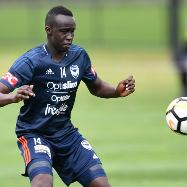 Star in the making: Melbourne Victory's Thomas Deng.