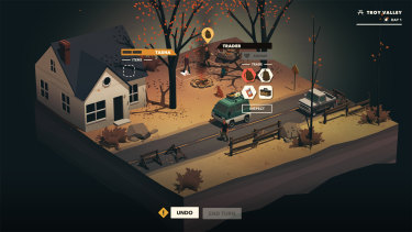 Overland from Finji is a turn-based survival game where dogs can use knives.