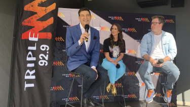 Triple M breakfast line-up of Basil Zempilas, Jenna Clarke and Xavier Ellis has continued to bomb in radio ratings.