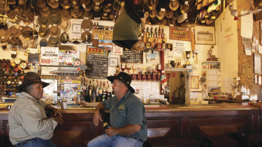 The Birdsville Pub in outback Queensland.