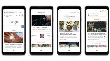 Discover replaces Feed in the Google app, and will appear at google.com on mobile devices.