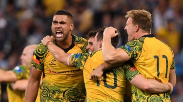 The All Blacks had won the Bledisloe, but were left with a hollow feeling having to watch the Wallabies celebrate after game three.