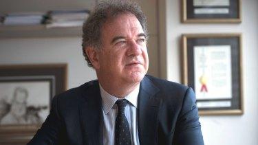 Dr Silviu Itescu, chief executive of stem-cell company Mesoblast.