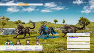 Various Daylife from Square Enix is an old-school role-playing game.