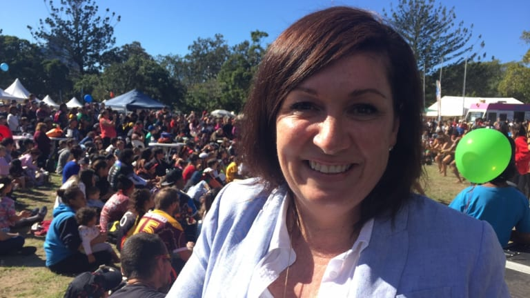 Leanne Enoch, Queensland's environment minister.