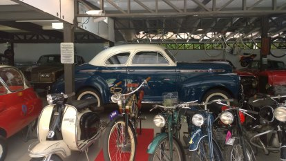 Transported through time, memories and vintage cars