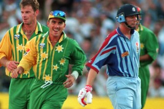 Langer starred in the 1994-95 quad series that has become a cult classic among Australian cricket fans.