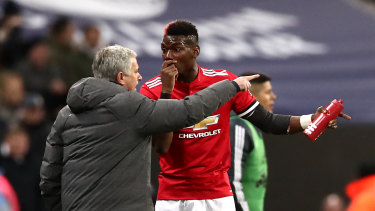 That way: Paul Ince believes Jose Mourinho's predecessor would have sent Paul Pogba (right) packing.