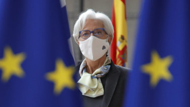 """""""Two per cent is not a ceiling"""": ECB President Christine Lagarde."""
