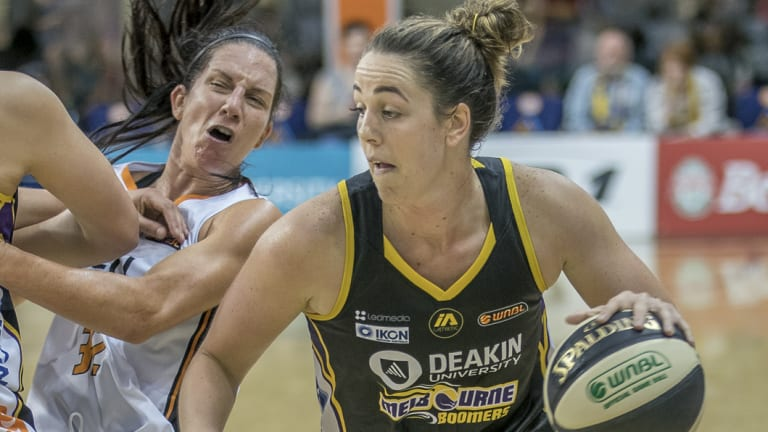 Jenna O'Hea and her Melboune Boomers could go all the way this WNBL season.