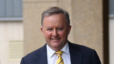 Anthony Albanese arrives at the NSW Supreme Court to give eivdence at the criminal trial of former Labor ministers Eddie Obeid and Ian Macdonald.