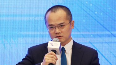 Expensive poetry: Meituan CEO Wang Xing's fortune has shrunk by some $US15 billion over the past three months.