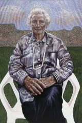 Wudjula Yorgah (White Woman), 2005, by Julie Dowling.