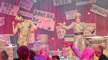 The Miss Behave Gameshow.