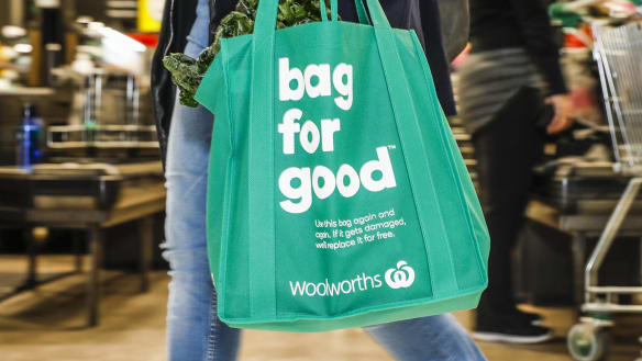 Shoppers urged not to 'bag' Woolworths workers over bans