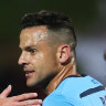 Sydney FC clinch clean sweep over Victory with eighth straight Big Blue