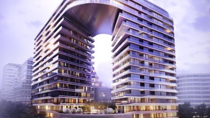 Architect of unusual Green Square apartment block unfazed by controversy