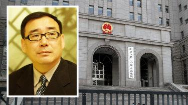 Imprisoned Australian writer Dr Yang Hengjun.