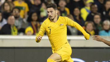 Mathew Leckie has been named for next week's clash against Jordan but may not make the trip.