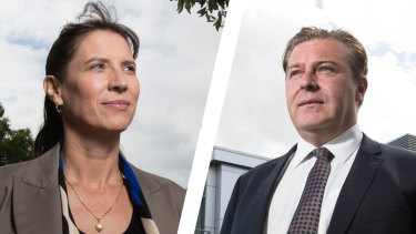 Liberal candidate Wendy Lindsay and Labor candidate Cameron Murphy are running for theEast Hills seat in south-western Sydney.