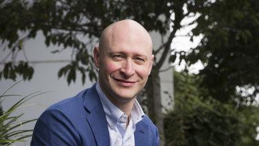 Bellamy's Organic CEO Andrew Cohen.
