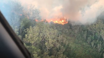 Minister defends Fraser fire response as aircraft ramp up efforts