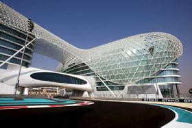 Yas Marina Circuit, Abu Dhabi.