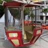 Women left 'dangling' after Circular Quay Ferris wheel door breaks