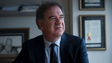 Mesoblast chief executive Silviu Itescu has high hopes for his stem-cell drug.