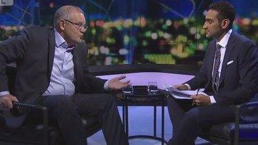 Prime Minister Scott Morrison denied trying to exploit anti-Muslim sentiment in a tense interview with Waleed Aly.