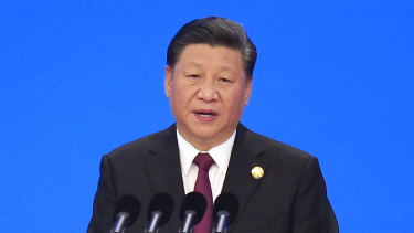 Chinese President Xi Jinping speaks at the opening ceremony for the China International Import Expo in Shanghai.