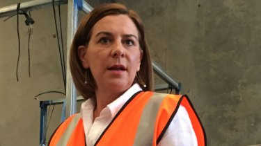 LNP leader Deb Frecklington has not ruled out expanding the curfew to Bundaberg or south-east cities.