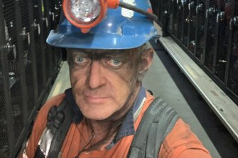 Grant Howard has been a coal worker for 38 years.