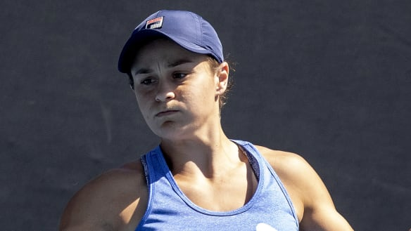 Tuesday night lights: Barty in prime time for showdown with Kvitova