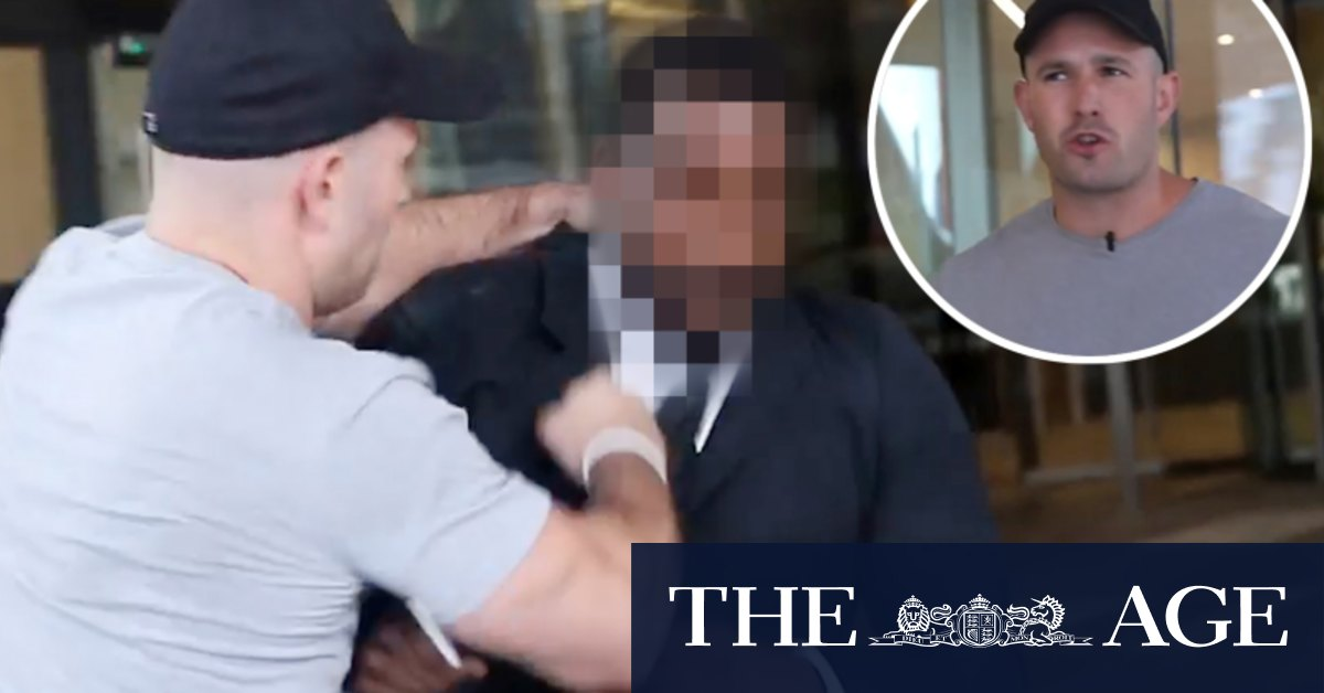 Neo-Nazi group leader charged with assault of Channel Nine security guard – The Age