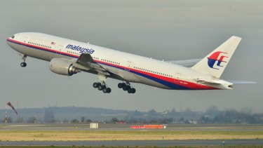 MH370 deviated from its planned route 40 minutes after take-off.