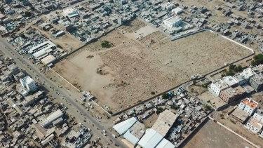 Radwan Cemetery in Aden, Yemen.