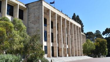 WA's Parliament House.