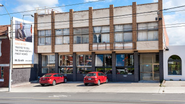 The warehouse at 171 High Street in Northcote leased to Grandfather's Axe sold.