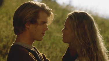 A classic chicken soup movie: Cary Elwes and Robin Wright in The Princess Bride.