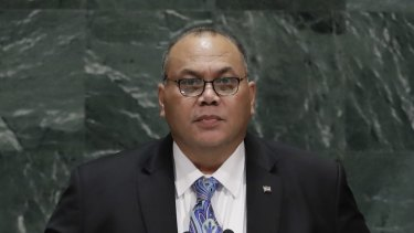 Nauru's President, Lionel Aingimea, has been urged to pardon the protesters.
