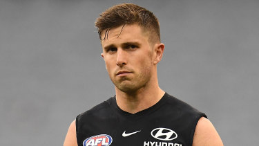 Marc Murphy will line up against the Bombers this Thursday.