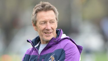 Bellamy hoses down footballs as Storm prepare for wet Canberra visit