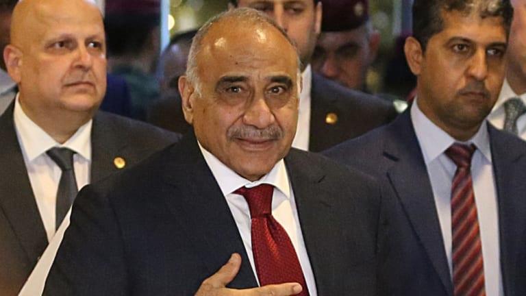 Iraqi Prime Minister-designate Adel Abdul-Mahdi.