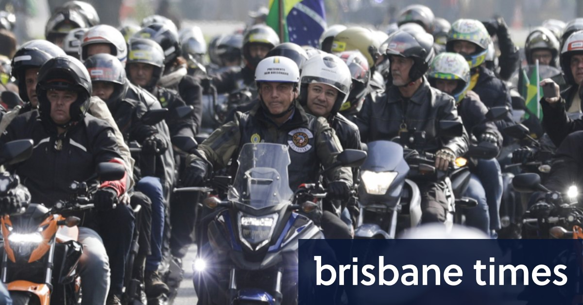 Bolsonaro fined for flouting mask rules at motorcycle rallyLoading 3rd party ad contentLoading 3rd party ad contentLoading 3rd party ad contentLoading 3rd party ad content