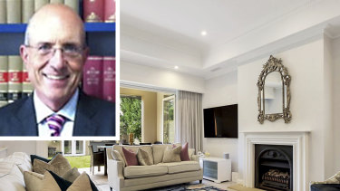 Edgecliff solicitor Mark Leo O'Brien's colleague became suspicious after he bought the luxurious home.