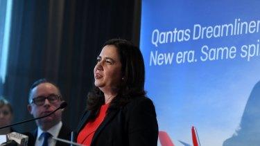 Queensland Premier Annastasia Palaszczuk.